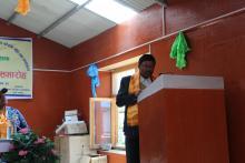 कार्यक्रम संचालक यस गा.पा. का प्रमुख प्रशासकिय अधिकृत श्री टीका बहादुर गोदार